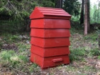 Our own homemade compost bin
